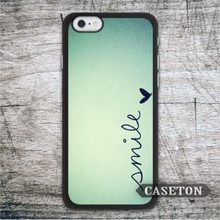 Smile On Mint font b Case b font For font b iPhone b font 7 6