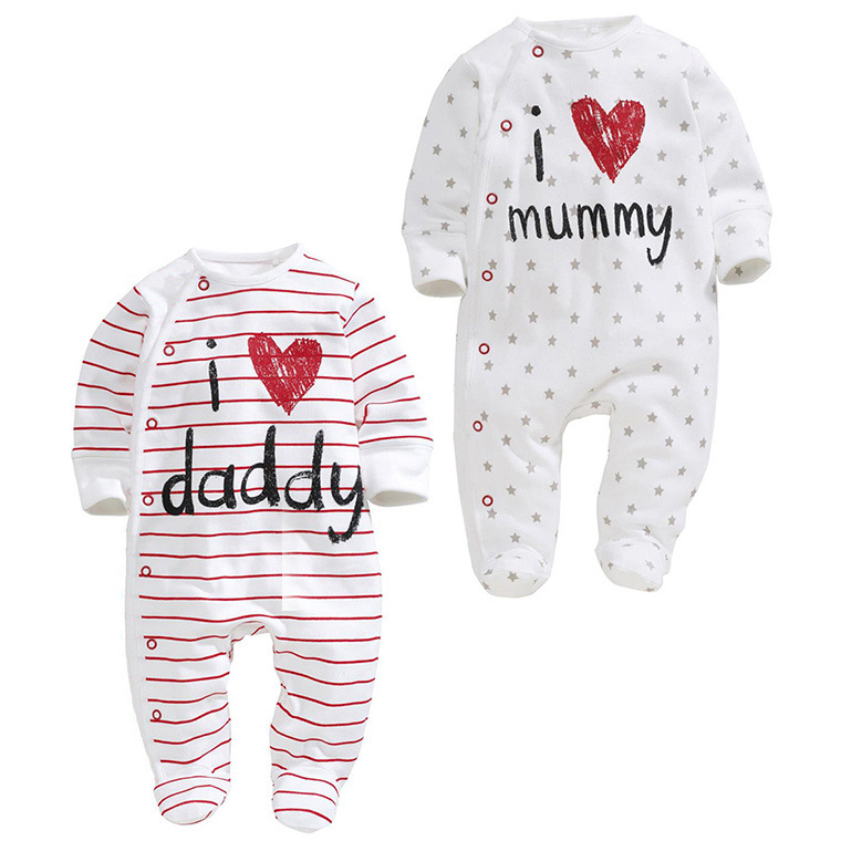 Fashion Newborn Rompers  Baby Boy Romper Branded Newborn Baby Clothes Doll Long Sleeve Baby Boy Clothes Christmas<br><br>Aliexpress