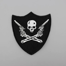 Skeleton Guns Harley Rider Biker Vest New Jacket DIY Parts Loco Motive Embroidery In Applique Personalized Iron On Patches