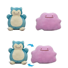 30CM Ditto Metamon Snorlax Inside-Out Cushion JAPAN Plush Doll Figure Toys(China)