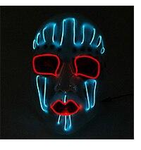 Brand Design Fashionable Sparkling Neon Led Glasses Festival Holiday Decor Twinkling 6 Colors EL Rave Party Eyeglasses by DC12V