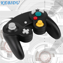 KEBIDU Wired Gamepad with Joystick Sensitive Gamepad Professional Gaming Controller For Nintendo Game Cube For Wii(China)