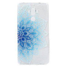 Blue mandala Beatiful Flower Clean Soft TPU Silicone Back cover For Huawei Ascend P8 P9 lite Mate9 Y625 Y635 honor 5X phone case