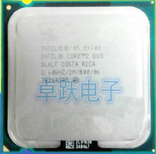 Original Intel Core 2 Duo E4700 2.6Ghz LGA 775 2M 800Mhz Dual Core Desktop (working 100% Free Shipping)