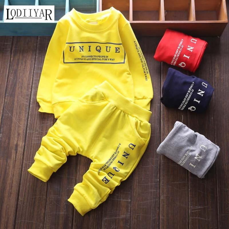 Unique Boys Girls Clothing Sets, Cotton Korean Pullover + Pants Suit, Casual Outerwear Spring Autumn Sport Suit Boys Clothes<br><br>Aliexpress