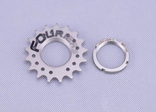 FOURIERS Bicycle fixed gear Freewheel Single Speed Freewheel BMX Flywheel Sprocket Gear Bicycle Accessories 11-22T