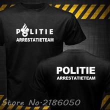 Danish Denmark Netherlands Politi Austria Finland Sweden Yugoslavia Police Kaibil Special Swat unit Force Mens Cotton T-Shirts