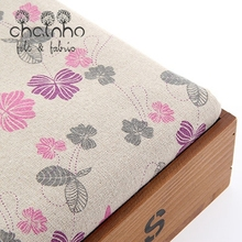 Zakka Cotton Linen Fabric For Handmade Hometextile Fabrics Cloth For Sofa Curtain Bags Cushion Furniture Cover Half Yard