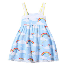 Girls Summer Dress with Embroidery 2017 Brand Robe Fille Kids Dresses for Baby Girls Clothes 100% Cotton Children Dress Princess
