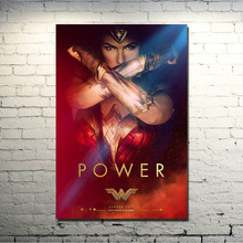 POPIGIST-2017 WONDER WOMAN Gal Gadot HQ Movie Wall Silk Poster 13x20 20x30 Pictures For Living Room Decor Great Gift 02-03(China)
