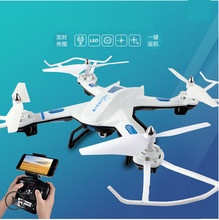 New arrive Tracker Drone Quadcopter can With HD Camera  Headless Real Time FPV 360-degree 3D  RC Helicopter Frees shipping