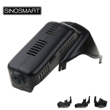 SINOSMART Car Wifi DVR for Volvo XC60 XC90 2015 Control by Mobile Phone App Dual Camera Optional