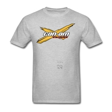 Custom Party T Shirt Can-am X Team Motorcycle Logo Hombre Cotton Short Sleeve T shirt Pop Homem Mens Black And White Shirt