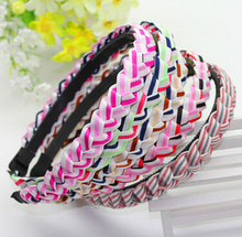 Free Shipping Fashion women's Twisted hairbands girl's cute headwear hair accessories