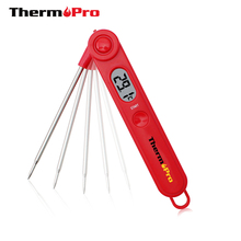 Original ThermoPro TP03 Ultral Fast Instant Read Digital Food Cooking Meat Candy BBQ Thermometer with Stainless Steel Probe(China)