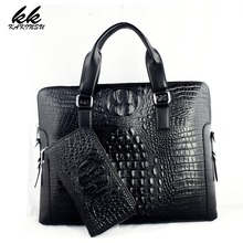 KAKINSU Men Messenger Bags Genuine Leather Bag Men Briefcase Designer Handbags High Quality Famous Brand Business Men Bag NT1001(China)