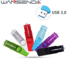 WANSENDA 3.0 OTG USB Flash Drive Two-site Pen drive 32GB Smart Phone Pendrive 64GB 16GB 8GB External Storage Micro USB Stick