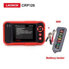 100% Launch Creader CRP129 Code reader obd2/eobd scanner Support 4 Systems Brake/Oil/SAS reset CRP 129 same as VIII DHL free(China)
