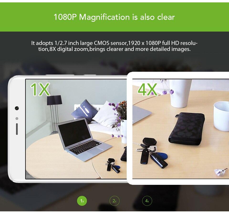 Original Xiaomi CCTV Mijia Xiaofang 110 Degree F2.0 8X 1080P Digital Zoom Smart Camera IP WIFI Wireless Camaras Cam Night Vision (2)
