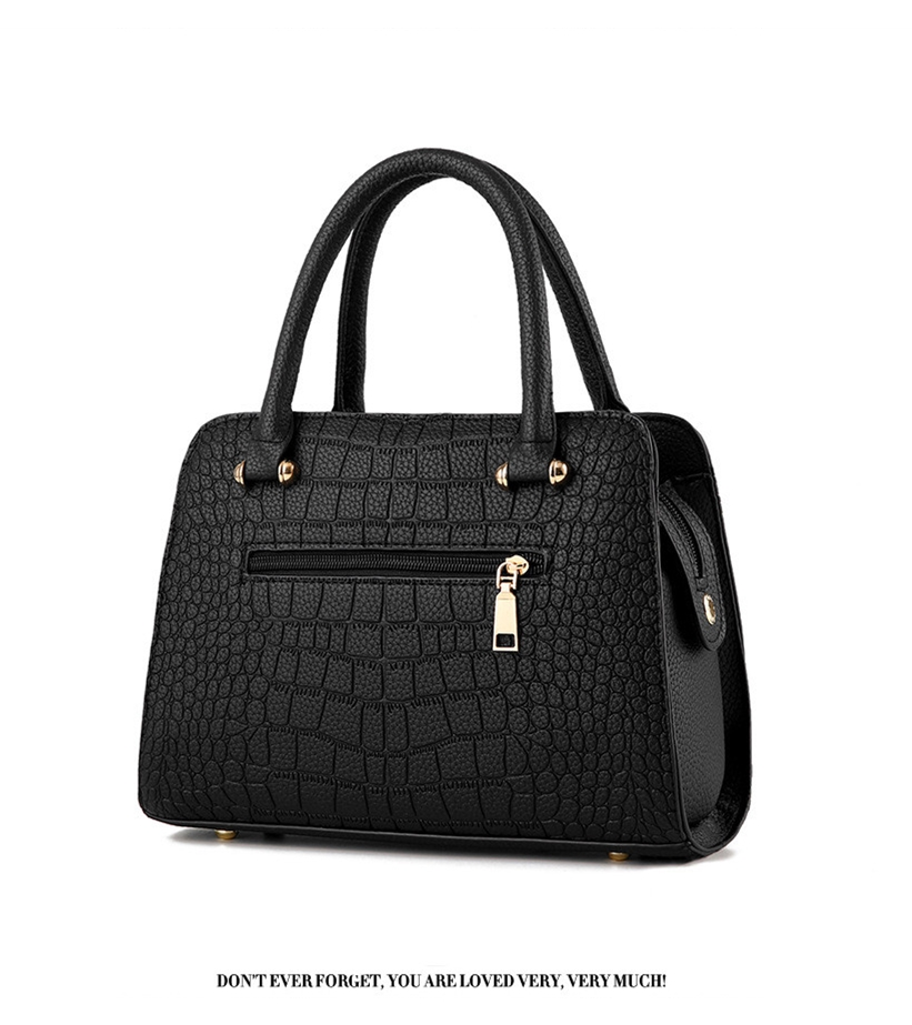 Crocodile Leather Luxury Quality Lady Shoulder Bags 16