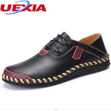 Buy Work Casual Mens Shoes Fashion Handmade Soft Moccasins Loafers High Leather Flats Breathable Driving Men Shoes Chaussure for $25.96 in AliExpress store