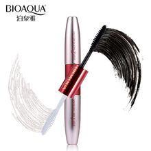BIOAQUA Brand Double Ended White+Black 3D Fiber Mascara Waterproof Nourish Makeup Lash Rimel Curling Eyelash Extension Make Up(China)