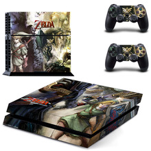 Buy Legend Zelda PS4 Skin Sticker Decal Sony PlayStation 4 Console 2 Controllers PS4 Skin Sticker for $7.99 in AliExpress store