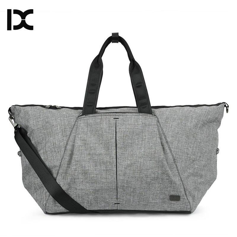 IX Yoga Gym Bag Travel Handbag Waterproof Outdoor Sport Shoulder Bags Clothes Storage Toursit Nylon Tote Duffel Camping XA262WA<br>