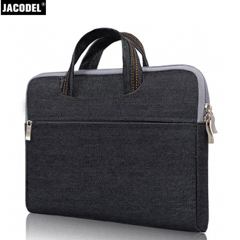 Jacodel Ultra Thin Laptop Briefcase Bag 13 14 15 Inch Notebook Tablet Bag for Macbook Ipad Xiaomi HP Computer Bag Laptop Handbag(China (Mainland))