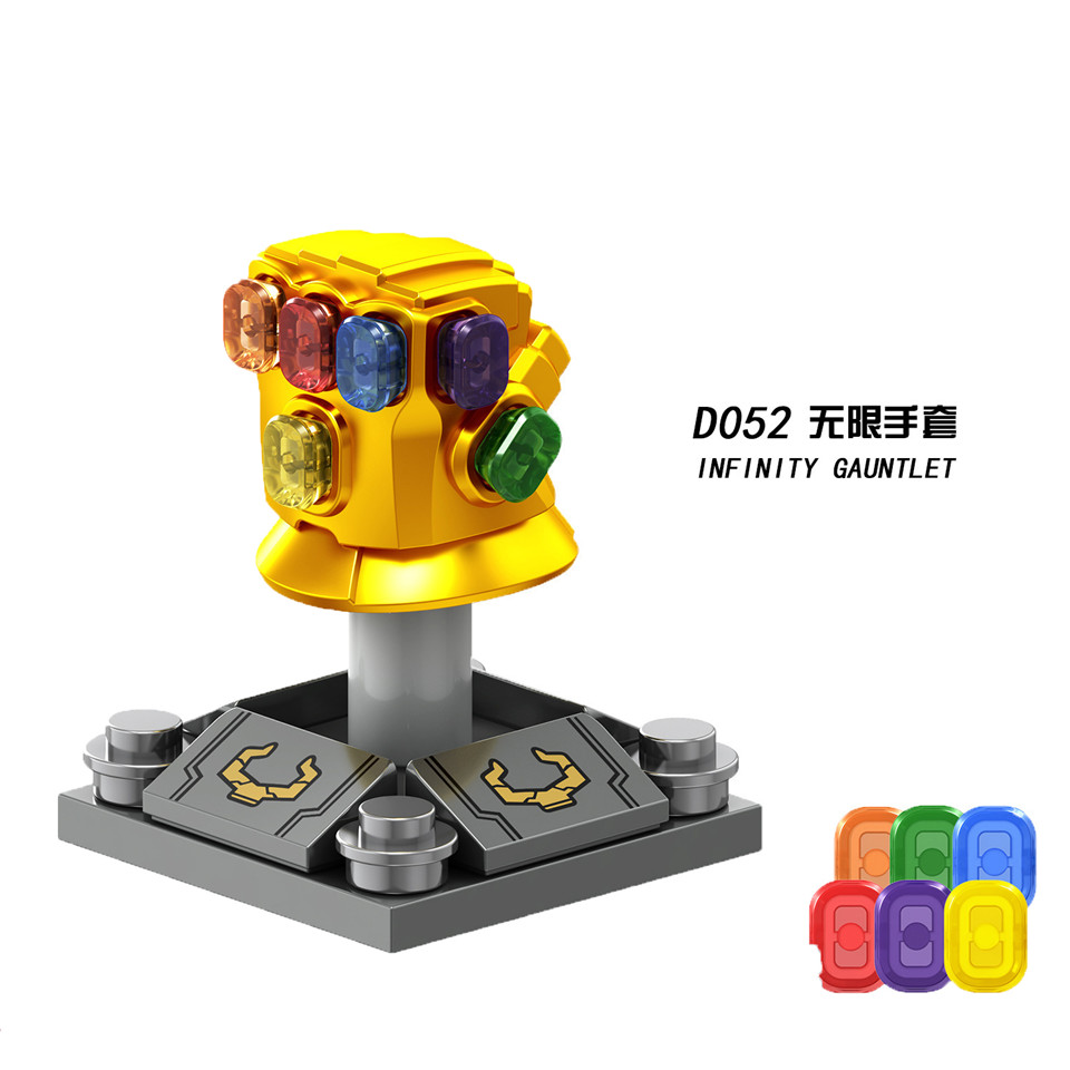 Legolingly Super Heroes Thanos Black Dwarf Figure Set Thanos Infinity Glove Building Blocks Marvel Blocks Set Toys for Children (7)