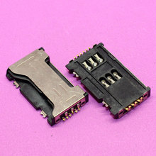 New Sim card socket adapter for Samsung Galaxy S Duos S7562 S7562I c6712 i8262D I589 I829 B9062 I739 i779 dual sim Card tray.(China)