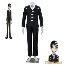 New Arrival Apparel Anime Soul Eater Death the Kid Cosplay Costume Full Suit For Adult Size
