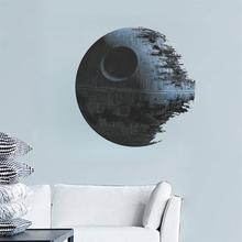 movies Star Wars Death Star wall stickers for kids rooms decals art home decor kids nursery gifts Bedroom Living room wallpaper(China)