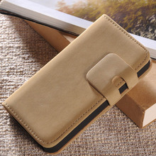 Soft Wallet Case for iPhone 4 4S Vintage PU Leather Phone Bag with Stand Flip Design with Card Holder Muti Colors