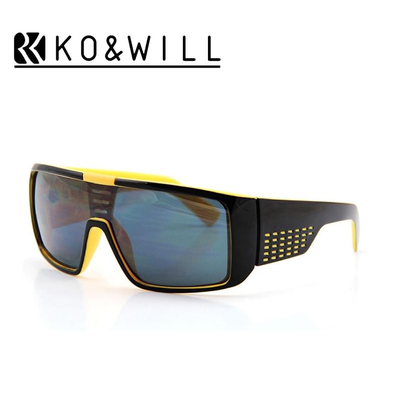 KOWILL Sunglasses Oculos de Sol Big Frame Face Domo Men Sports Coating Eyewear Gafas Sun Glasses Male Style D Brand design B136<br><br>Aliexpress