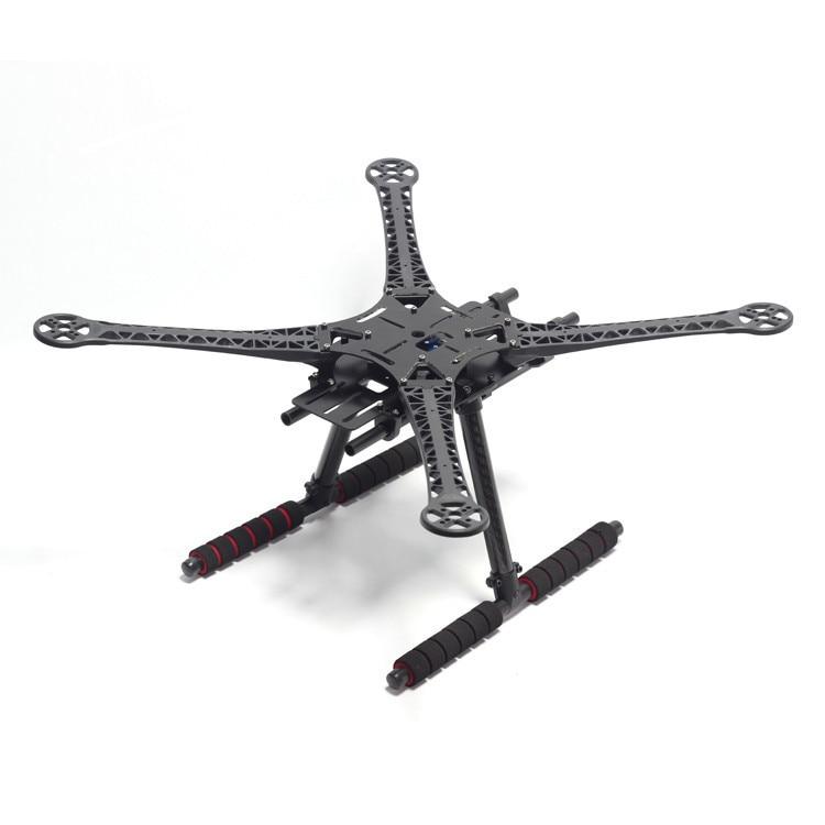 S500 500mm Quadcopter Multicopter Frame Kit GF Version With Carbon Fiber Landing Gear for FPV Quad Gopro Gimbal F450 Upgrade<br>