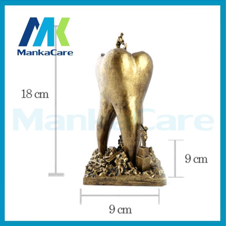 Artware Teeth resin handicraft Dentist Gift Resin Crafts Dental clinic decoration furnishing articles Creative gifts Artwork<br>