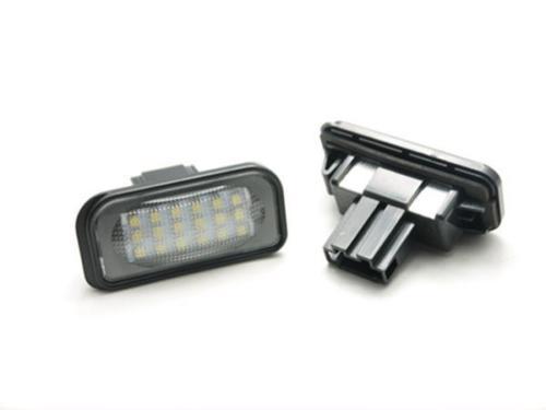 Error Free LED License Plate Light FOR  Benz W203 4D C240 C230 C55 AMG C320 C350 C280 C43 C32<br><br>Aliexpress
