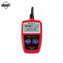 Super Autel MaxiScan MS309 CAN BUS OBD2 Code Reader obd2 OBD II Car Diagnostic Tool MS309 Code Scanner autel ms309(China)