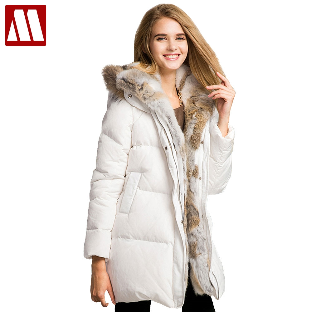 Winter Female Warm Fur Coat 2019 Fashion Lady Thicken Warm Large Faux Fur Collar Parkas Long sleeve Overcoat Women Fur Coats