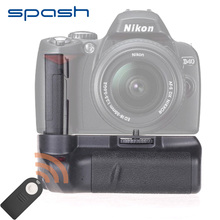 spash Multi-power Vertical Battery Grip for Nikon D60 D5000 D3000 D40 D40X DSLR Camera Battery Holder With IR Remote Control(China)