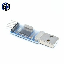 100PCS PL2303HX USB to TTL / USB-TTL / STC microcontroller programming module / PL2303 nine of the upgrade board