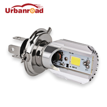 6000K 12v Hs1 h4 Led Motorcycle Scooter Light Bulb Motorbike h4 Led Headlight Motorcycle Hs1 Moped Light Bulbs Moto Accessories