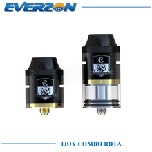 100% Original iJoy Combo RDTA RDA RTA Sub Ohm Tank E-cigs 6.5ML Capacity Atomizer Side Filling System with IMC-2 IMC-3 Deck