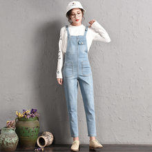 5a482569649d  2045 Autumn Rompers Womens Jumpsuit Korean Fashion Plus Size S-6XL Denim  Overalls For Women Elegant Adjustable Strap Big Size