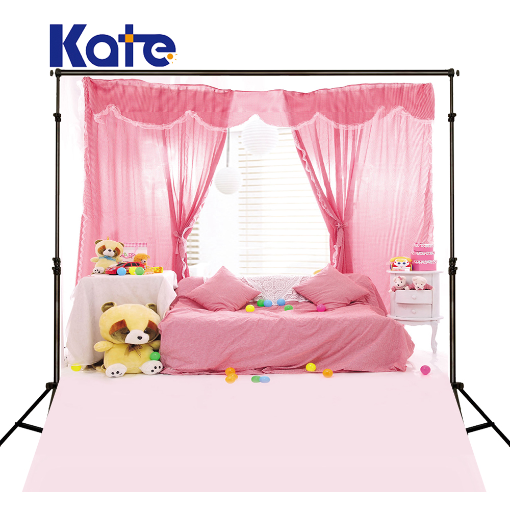 300Cm*200Cm(About 10Ft*6.5Ft) Backgrounds Double Doors And Window Curtains Pink Sofa Photography Backdrops Photo Lk 1255<br>