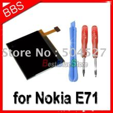 for Nokia E63 E71 E72 lcd display screen 20pcs/lot + tools free shipping