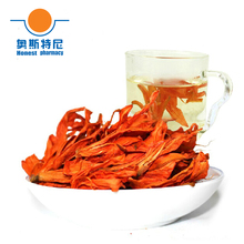 free shipping Chinese herb tea organic dried Lily Flower Tea &Lilium brownii tea