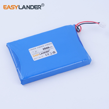 high capacity 7.4V 3500mAh Li polymer  battery For satlink WS-6908  WS-6906 WS-6909 WS-6905 WS-6932 WS-6936 WS-6969 WS-6960