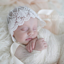 Newborn Photography Props Baby Lace Hat Baby Cap  Bonnet Enfant Hat Photo Props Baby Newborn Props Infantil
